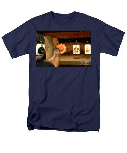 At The Gun Gange Men's T-Shirt  (Regular Fit) by Micah May