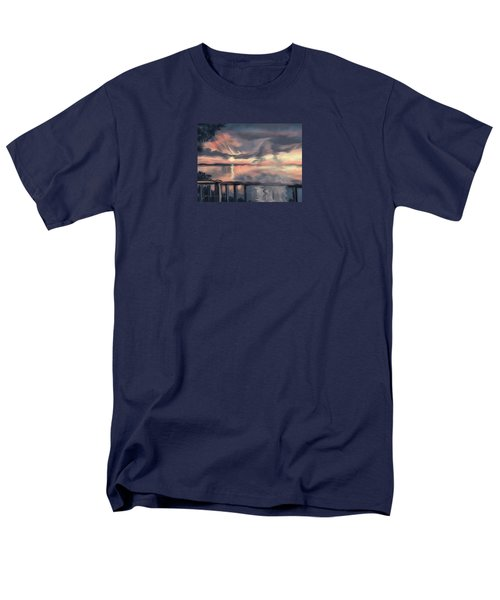 Men's T-Shirt  (Regular Fit) featuring the painting Aunt Jo by Jean Pacheco Ravinski