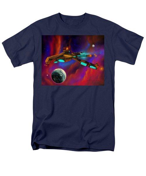 Men's T-Shirt  (Regular Fit) featuring the painting Auroborus 2015 by James Christopher Hill