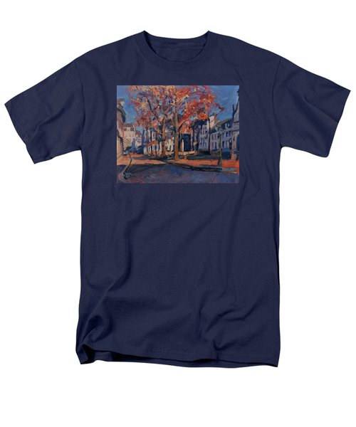 Autumn On The Square Of Our Lady Maastricht Men's T-Shirt  (Regular Fit) by Nop Briex