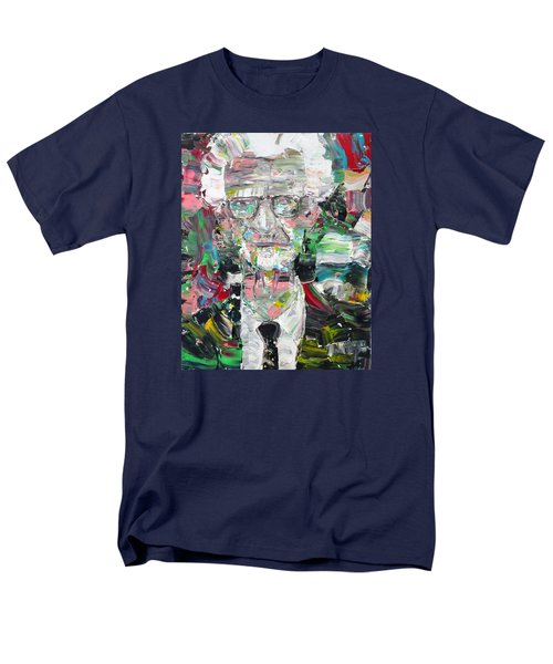 B. F. Skinner Portrait Men's T-Shirt  (Regular Fit) by Fabrizio Cassetta