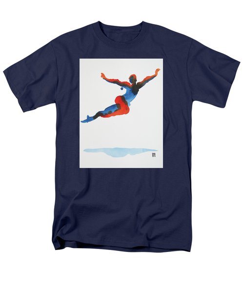 Ballet Dancer 1 Flying Men's T-Shirt  (Regular Fit) by Shungaboy X