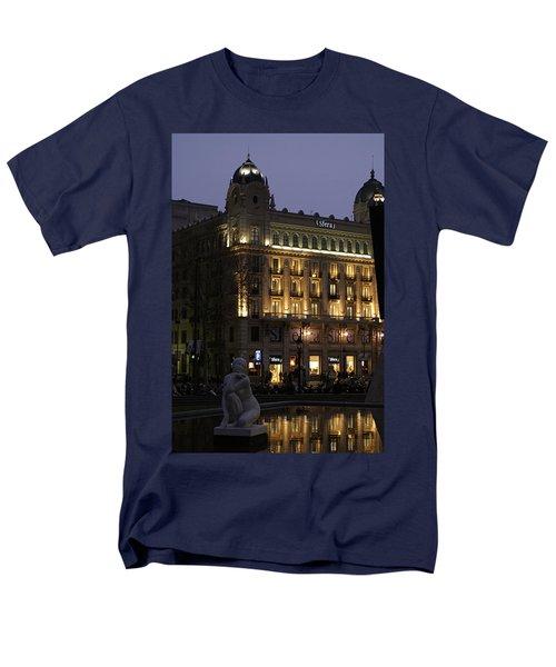 Barcelona Spain Men's T-Shirt  (Regular Fit) by Henri Irizarri