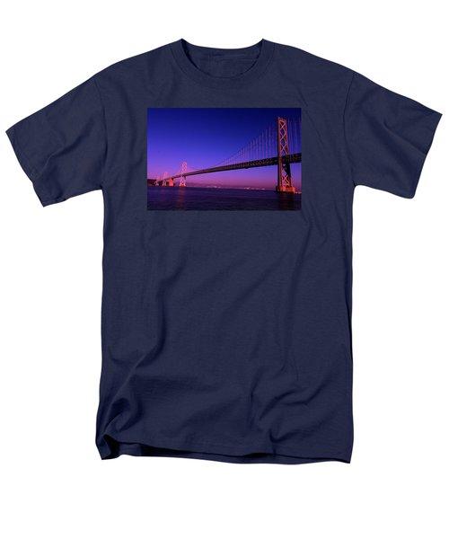 Bay Bridge Sunset Men's T-Shirt  (Regular Fit)
