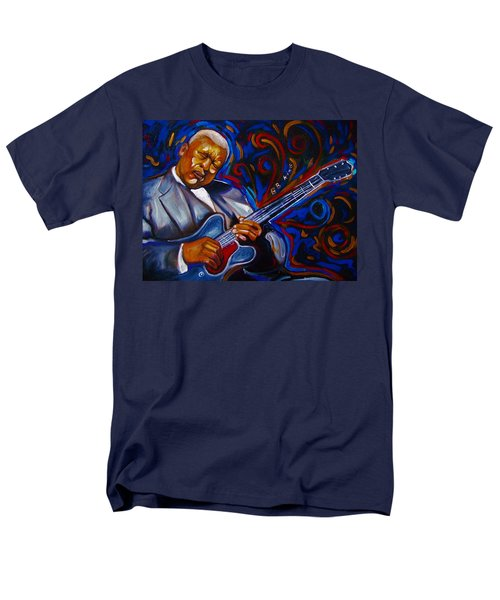 Men's T-Shirt  (Regular Fit) featuring the painting b.b KING by Emery Franklin
