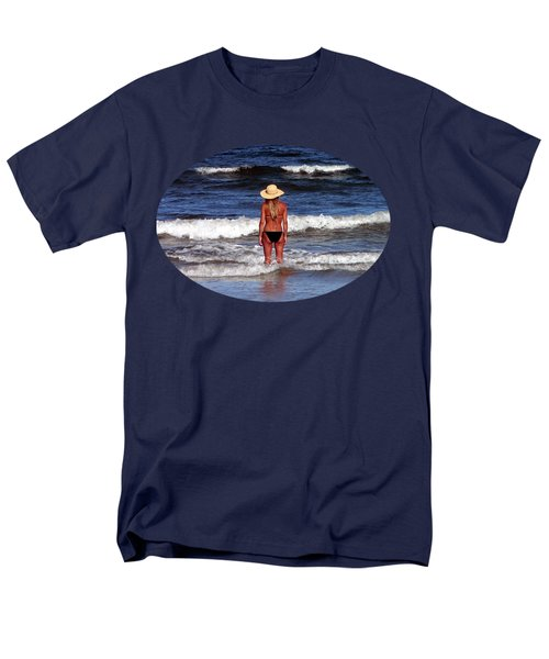 Men's T-Shirt  (Regular Fit) featuring the photograph Beach Blonde .png by Al Powell Photography USA