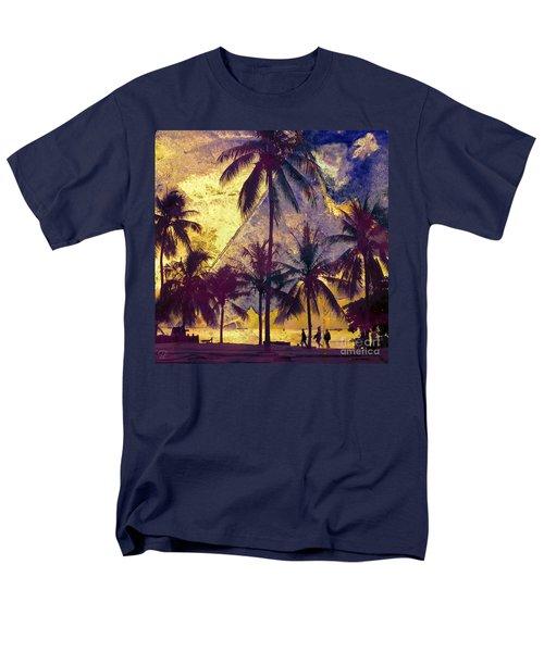 Men's T-Shirt  (Regular Fit) featuring the photograph Beside The Sea by LemonArt Photography