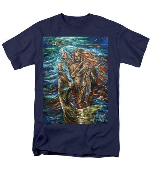 Best Friends Men's T-Shirt  (Regular Fit) by Linda Olsen