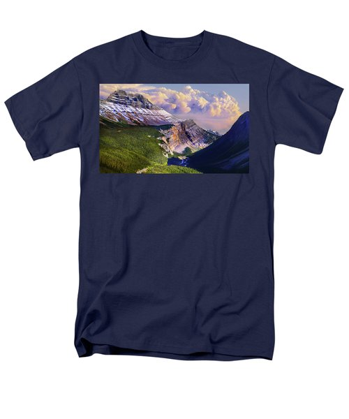 Men's T-Shirt  (Regular Fit) featuring the photograph Big Bend by John Poon
