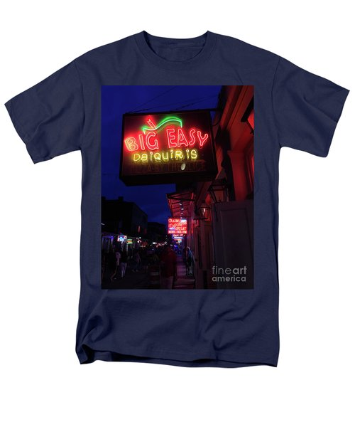 Men's T-Shirt  (Regular Fit) featuring the photograph Big Easy Sign by Steven Spak