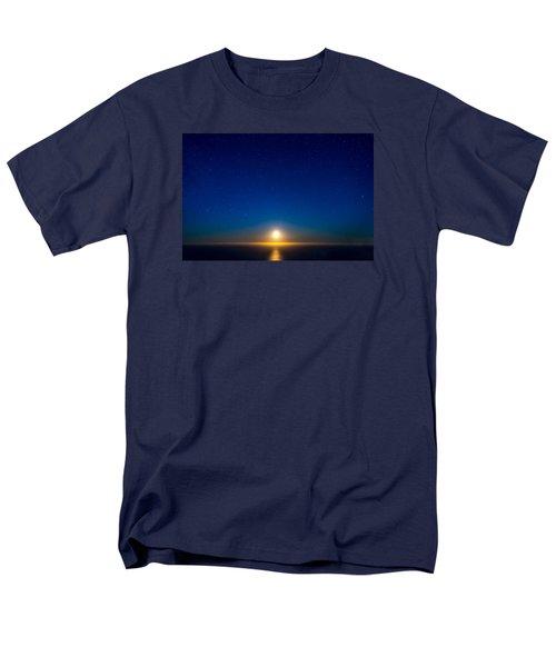 Big Sur Moonset Men's T-Shirt  (Regular Fit) by Derek Dean