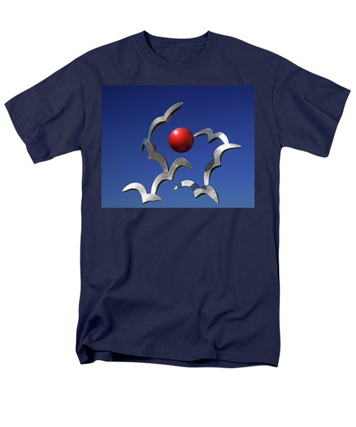 Men's T-Shirt  (Regular Fit) featuring the photograph Blades And Ball by Christopher McKenzie