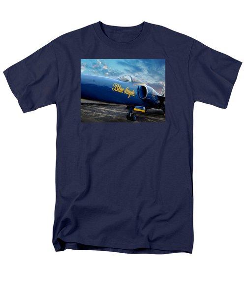 Blue Angels Grumman F11 Men's T-Shirt  (Regular Fit) by Rod Seel