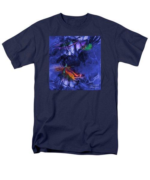 Blue Avatar Abstract Men's T-Shirt  (Regular Fit)