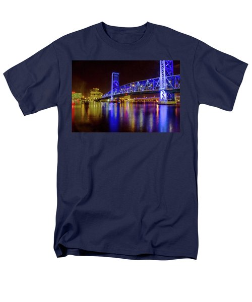 Blue Bridge 2 Men's T-Shirt  (Regular Fit) by Arthur Dodd