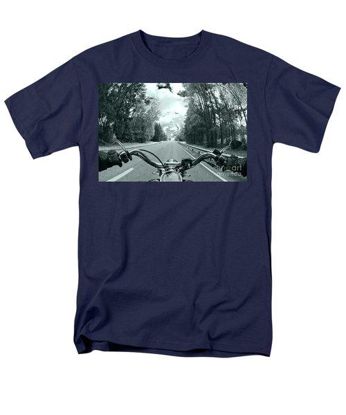Blue Harley Men's T-Shirt  (Regular Fit) by Micah May