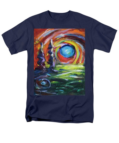 Blue Moon Men's T-Shirt  (Regular Fit) by Yulia Kazansky