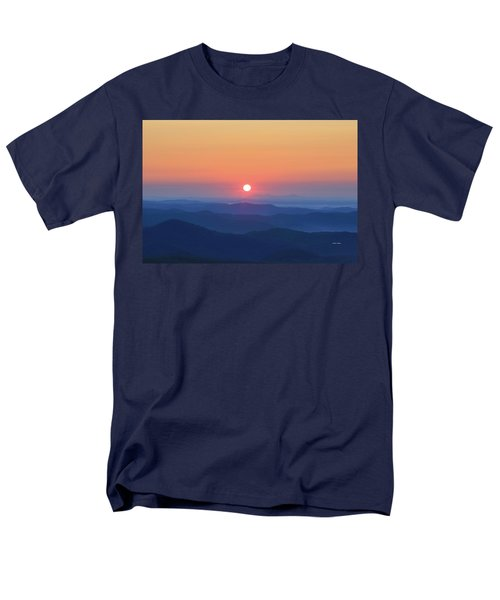 Blue Ridge Sunrise Men's T-Shirt  (Regular Fit) by Dale R Carlson