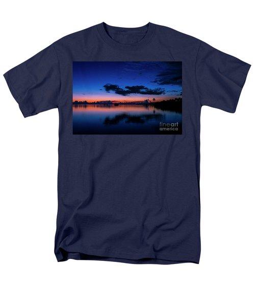 Blue Sky Night Men's T-Shirt  (Regular Fit) by Quinn Sedam