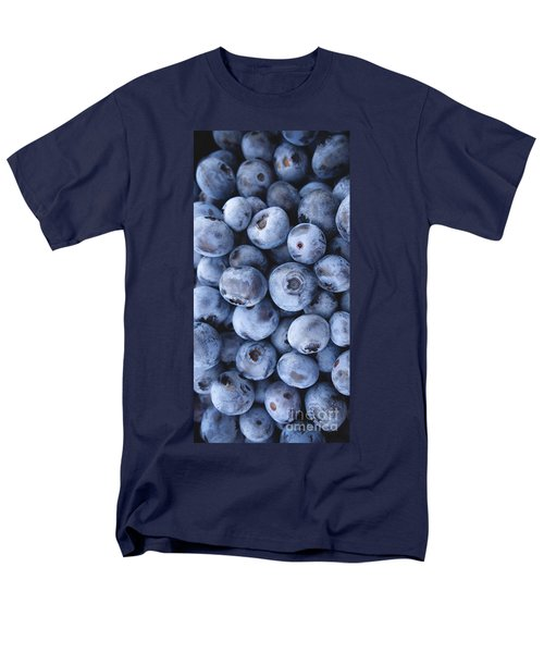 Blueberries Foodie Phone Case Men's T-Shirt  (Regular Fit) by Edward Fielding