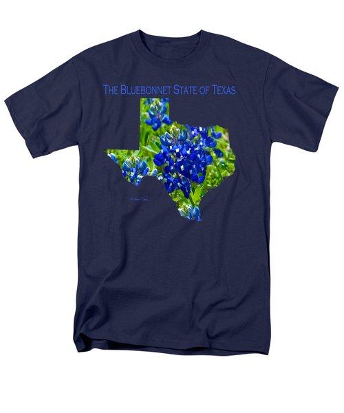 Bluebonnet State Of Texas - T-shirt Men's T-Shirt  (Regular Fit)