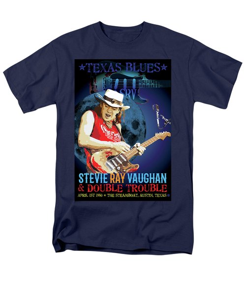 Bluesman Men's T-Shirt  (Regular Fit) by Gary Grayson