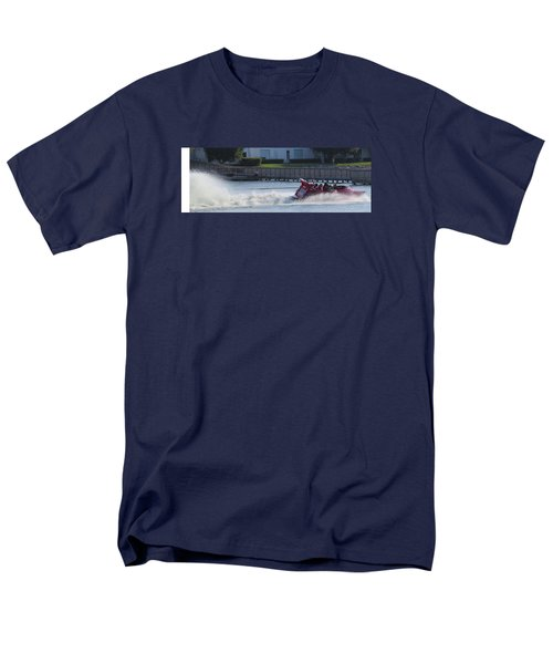 Boat On The Water Men's T-Shirt  (Regular Fit) by Aaron Martens