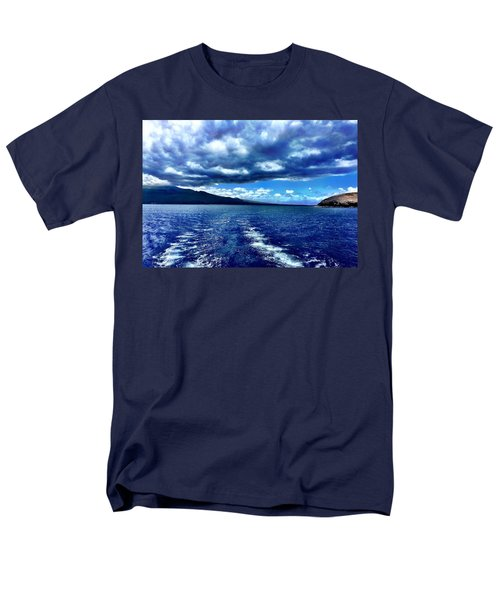 Men's T-Shirt  (Regular Fit) featuring the photograph Boat View by Michael Albright
