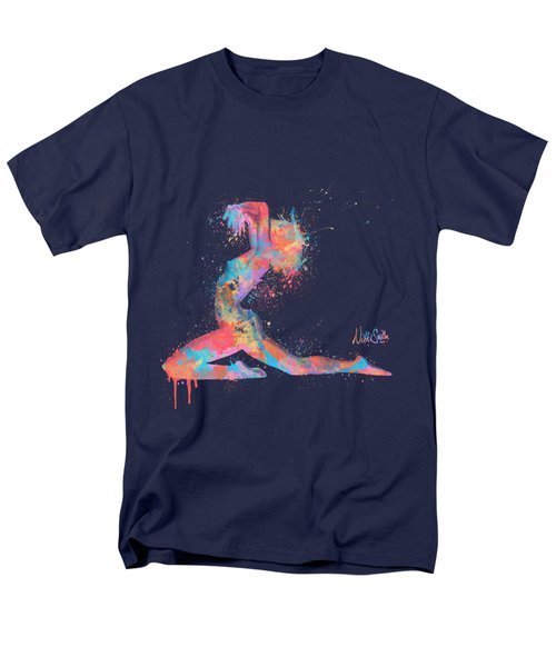 Bodyscape In D Minor - Music Of The Body Men's T-Shirt  (Regular Fit) by Nikki Marie Smith