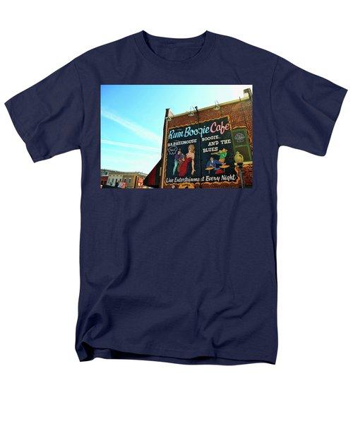 Boogie And Blues Men's T-Shirt  (Regular Fit)