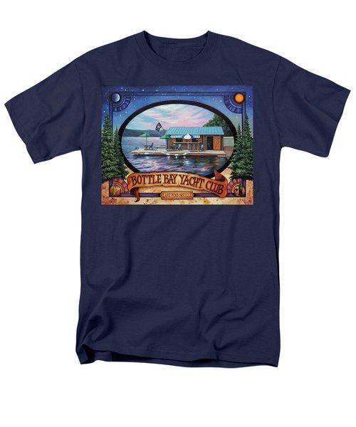 Bottle Bay Yacht Club Men's T-Shirt  (Regular Fit)
