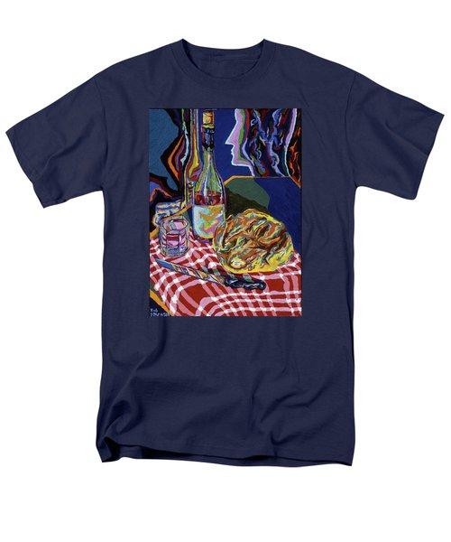 Bread And Wine Of Life Men's T-Shirt  (Regular Fit) by Robert SORENSEN