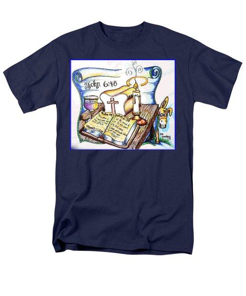 Bread Of Life Men's T-Shirt  (Regular Fit) by Duane Bemis