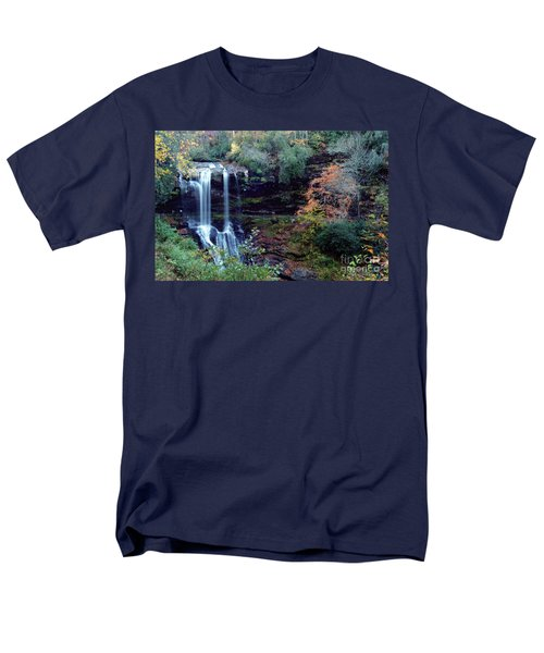 Bridal Veil Waterfalls Men's T-Shirt  (Regular Fit) by Debra Crank