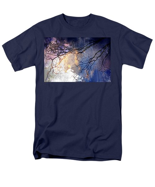 Men's T-Shirt  (Regular Fit) featuring the photograph Brilliant Rain by Gray  Artus