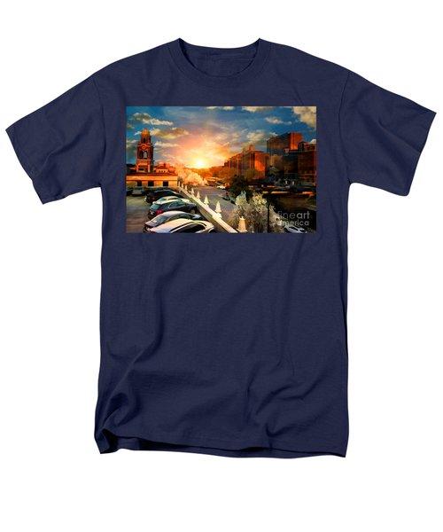 Brush Creek Kansas City Missouri Men's T-Shirt  (Regular Fit) by Liane Wright