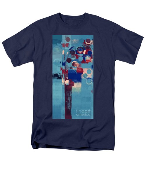 Men's T-Shirt  (Regular Fit) featuring the painting Bubble Tree - 85l-j4 by Variance Collections