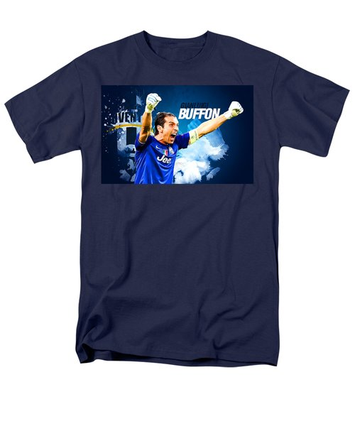 Buffon Men's T-Shirt  (Regular Fit) by Semih Yurdabak