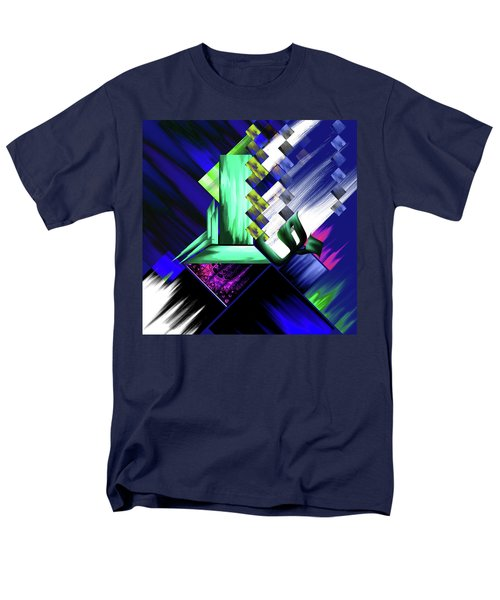 Men's T-Shirt  (Regular Fit) featuring the painting Calligraphy 105 4 by Mawra Tahreem