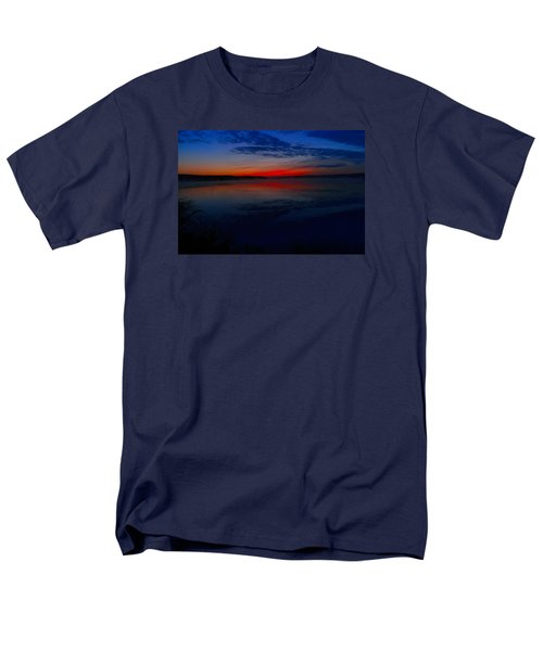 Calm Of Early Morn Men's T-Shirt  (Regular Fit) by Jeff Swan