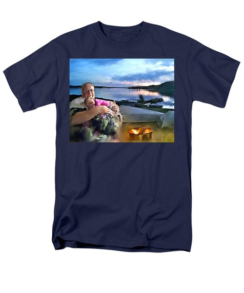 Camping With Grandpa Men's T-Shirt  (Regular Fit) by Susan Kinney