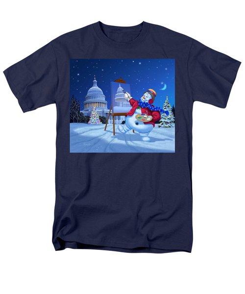 Capitol Snoman Men's T-Shirt  (Regular Fit)