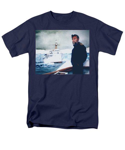 Capt Derek Law Men's T-Shirt  (Regular Fit) by Tim Johnson