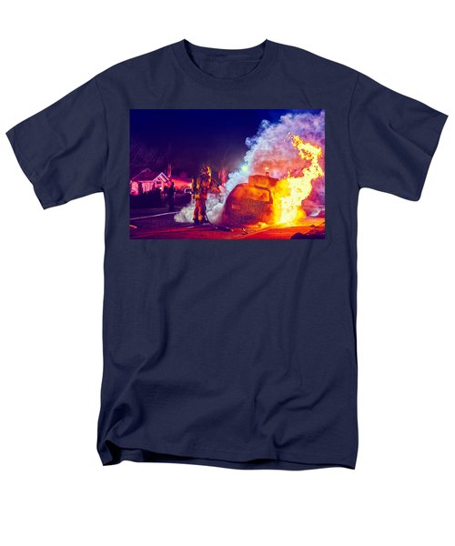 Car Arson  Men's T-Shirt  (Regular Fit) by TC Morgan