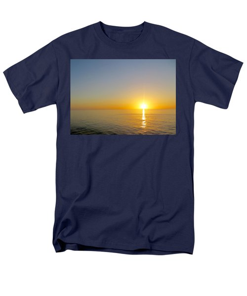 Caribbean Sunset Men's T-Shirt  (Regular Fit) by Teresa Wing