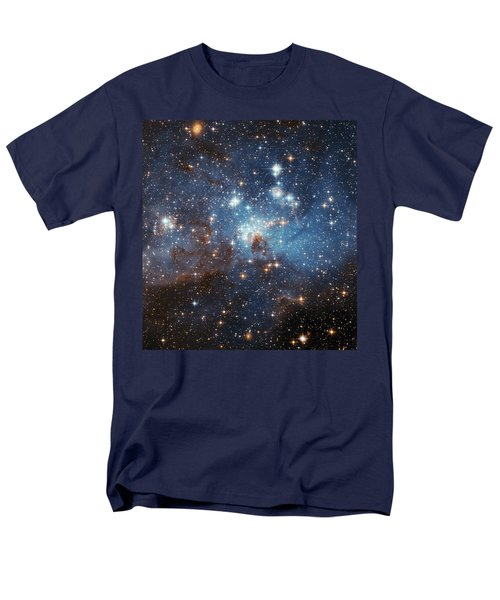 Men's T-Shirt  (Regular Fit) featuring the photograph Celestial Season's Greetings From Hubble by Nasa