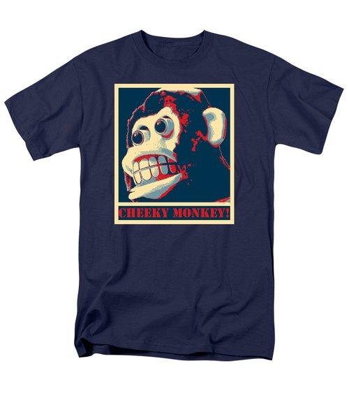 Cheeky Monkey Men's T-Shirt  (Regular Fit) by Richard Reeve