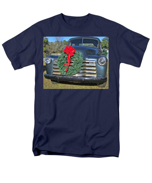 Chevy Christmas Men's T-Shirt  (Regular Fit) by Victor Montgomery