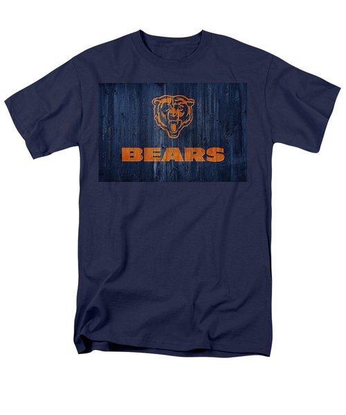 Chicago Bears Barn Door Men's T-Shirt  (Regular Fit) by Dan Sproul