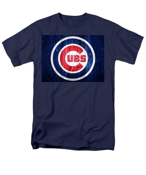 Chicago Cubs Barn Door Men's T-Shirt  (Regular Fit) by Dan Sproul